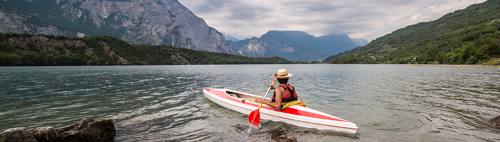 🚣‍♀ Itinerant canoeing courses in Trentino